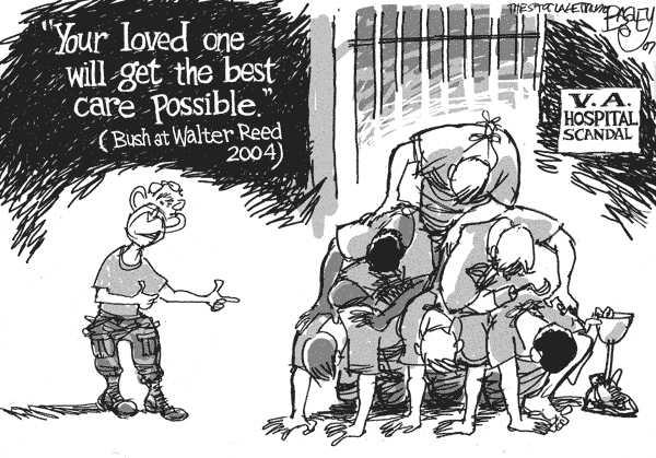 Walter Reed, shades of Abu Ghraib