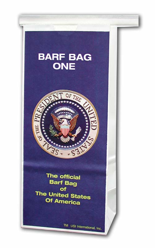 Official Barf Bag of the United States