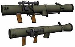 Carl Gustav portable rocket launchers