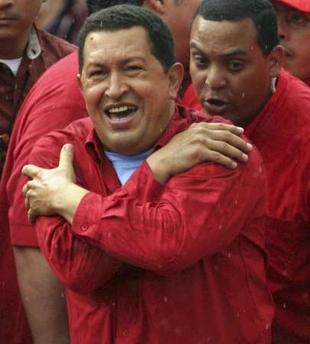 Give us a hug, Chavecito!