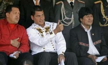 Rafael Correa: Thumbs up