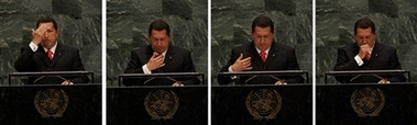 Dios mio, Hugo Chavez is devout--and a hoot!