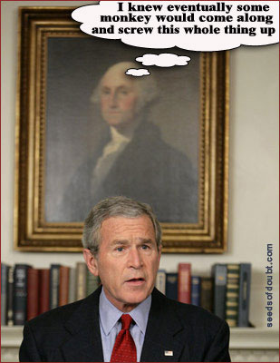 George (Washington) on George (Bush)