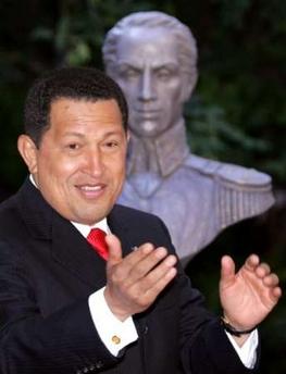 Chavecito mit Bolivar!