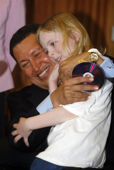One of London's youngest Chavistas?