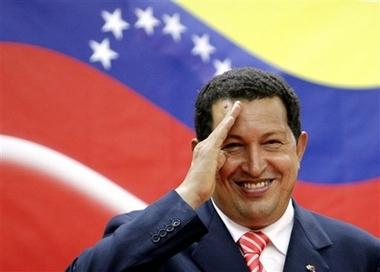 Hugo Chavez salutes YOU!