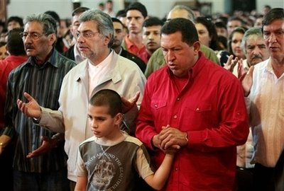Leftist prayers in Paraguay: Lugo, Chavecito and many more!