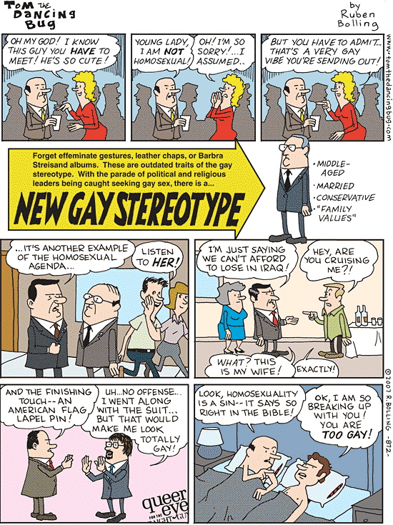 The new gay stereotype