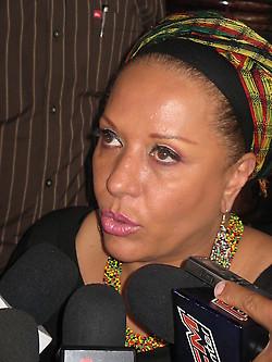 Piedad Cordoba--future president of Colombia