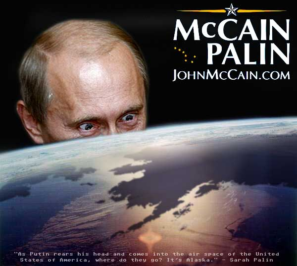 Putin Rears His Head! Oh NOES!!!