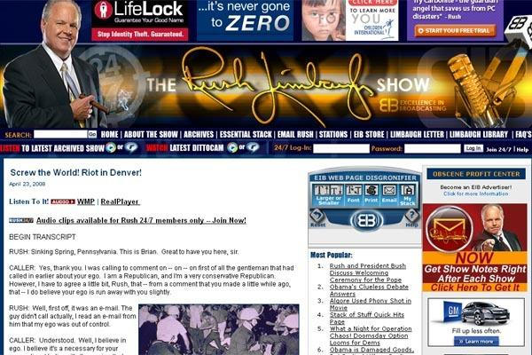 Rush Limbaugh WANTS riots in Denver. Any questions?