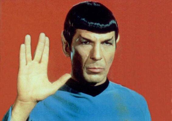 Spock's logical response