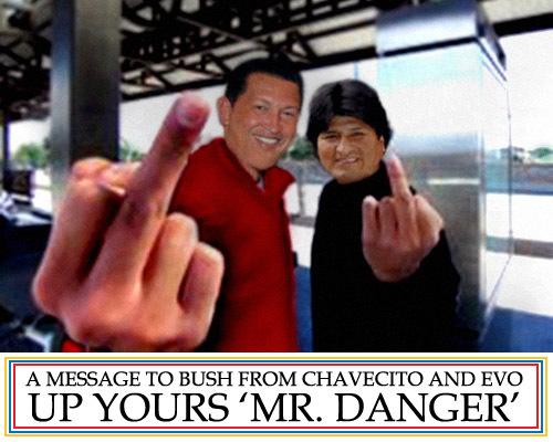 Up yours, Mr. Danger!