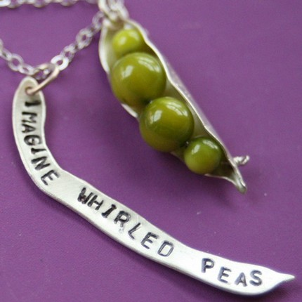 Visualize whirled peas, it's easier