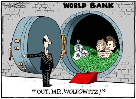 Out, out, damned Wolfowitz!